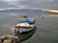 Boat (Metin Canbalaban) Tags: voyage trip travel boat trkiye sandal izmir trkey metin kayk canbalaban