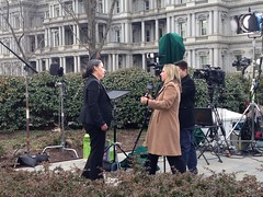 Nicole Hernandez Hammer at the White House