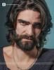Ugly Man (Francesco Carta) Tags: man face portraits hair studio beard long expression ugly 60mm d300 francescocarta