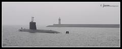 Submarino en bocana Cartagena (jarm - Cartagena) Tags: espaa puerto spain espagne cartagena niebla boria submarino bocana regindemurcia jarm