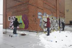 brick slayers (Rodosaw) Tags: chicago animal graffiti yams xmen rta reame