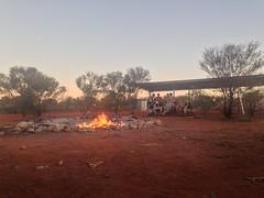 Le camp au milieu du désert