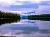 Mosquito Lake  2 (Leahann Schulz Photography) Tags: blue lake canada reflection nature clouds autum britishcolumbia nakusp kootney