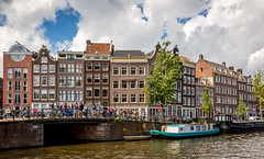 Prinsengracht and Bloemgracht (IceNineJon) Tags: city travel holland water netherlands amsterdam photography boat canal europe thenetherlands places prinsengracht bloemgracht northholland princescanal kingdomofthenetherlands flowercanal canon5dmarkiii 5dm3