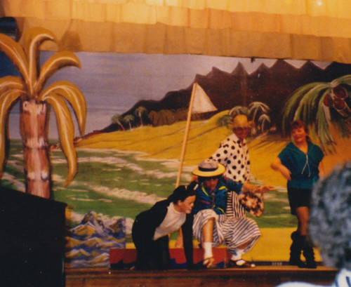 1994 Dick Whittington 58 (from left Kathy Allan, Ross Crowe, Roy Ritchie, Sue Wasden)