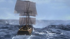 Jolly Roger (Guardian Screen Images) Tags: show colin tv sailing ship time magic vessel bean pirate captain sail series portal once jolly roger hook upon hooks odonoghue
