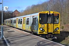 Merseyrail 508115 (Will Swain) Tags: uk travel england bus buses electric train britain transport 21st trains class birkenhead february mersey merseyside 508 2015 merseyrail 508115