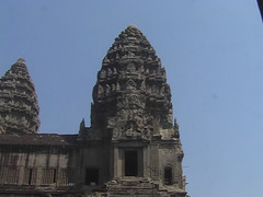 Angkor Wat Carved Rooftops
