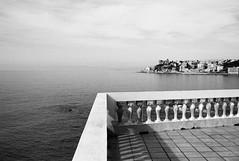 genovese sea view (gorbot.) Tags: sea blackandwhite rangefinder genoa genova mmount leicam8 silverefex voigtlander28mmultronf19