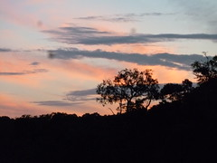 Sunset in Guyana