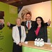 Showtel Orla McGuinness & Karina Kelly Elavon and Stephen McNally, IHF President