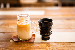 My Afternoon Tea (moaan) Tags: cafe tea milktea lens gear noctikux kobe japan d studiod summer afternoon leica mp leicamp type240 summilux 50mm f14 summilux50mmf14asph bokeh dof utata 2016