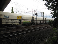 debil (northrhine westphalia bench) Tags: graffiti chika freight freights gterzug debil gatx
