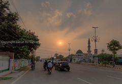 0W6A7022 (Liaqat Ali Vance) Tags: road pakistan sunset nature colors beauty photography google ali jail punjab lahore vance shadman chowk liaqat