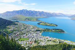 Adventure Town || Queenstown, New Zealand (Andrew Rhodes Photography) Tags: newzealand queenstown turquoise otago southisland lakewakatipu theremarkables skylinegondola gondola bobspeak