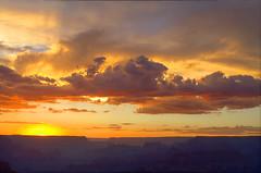 DSC_0062 yavapai point sunset hdr 850 (guine) Tags: grandcanyon grandcanyonnationalpark canyon rocks clouds sunset hdr qtpfsgui luminance