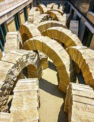 Goldsworthy Arches (ken mccown) Tags: stlouis stlouisartmuseum missouri usa museum andygoldsworthy stonesea landart