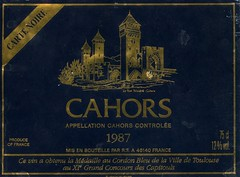 02 Rigal Cahors Carte Noire 1987. (Clementinos2009) Tags: cahors cahorscartenoire1987 rigal