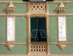 Savona - Linea Meridiana (fotomie2009) Tags: meridiana sundial savona liguria italy italia window tromp loeil orologio solare