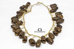 Colar sonoro de seringa (Rita Barreto) Tags: colar colarsonoro colarsonorodeseringa etniaticuna manaus amazonas amaznia