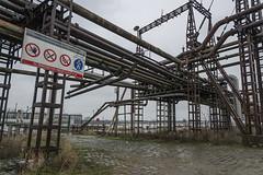 Petroleum Zuid (jefvandenhoute) Tags: belgium belgië belgique antwerpen antwerp light lines shapes nikond800 photoshopcs6 industry industrialarcheology