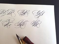 IMG_4504 (xelo garrigs) Tags: caligrafa calligrafia calligraphy pointedpen spencerian penmanship ornamentalscript