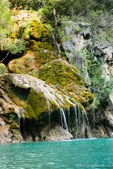 Gole del Verdon, la cascata (cbergy) Tags: provenza verdon gole canyon nikonschool