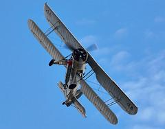 Swordfish (Bernie Condon) Tags: vintage flying display aircraft aviation military navy airshow ww2 fairey torpedo preserved bomber farnborough warplane swordfish rn fbo royalnavy rnhf