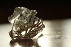 Broken Glass 07142016 (Orange Barn) Tags: brokenglass broken glass light cracks quote antonchekhov 116picturesin2016