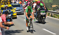 """The Green Hornet"" Peter Sagan (VandenBerge Photography) Tags: tourism tourdefrance cycling sport europe switzerland martigny coldelaforclaz 2016 event craziness canon ef100mmf28lmacroisusm valais schweiz summer explore"