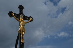 IMGP4084 (hlavaty85) Tags: inri statue cross
