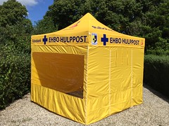 Quick Folding Tent - EHBO tent 3x3 sponsoring (3)