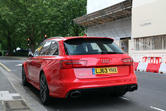Audi RS6 Avant C7 (R_Simmerman Photography) Tags: street red summer london hotel garage united parking uae july kingdom harrods arab saudi mayfair qatar supercars valet combo sloane 2016 sportcars londoncars knightbridge hypercars carsoflondon