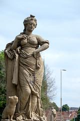 Puppenbrcke, Lbeck. (SkipperWP) Tags: lbeck deutschland germany statue bridge puppenbrcke sculpture outdoor fuji fujifilm xf1855 xe2