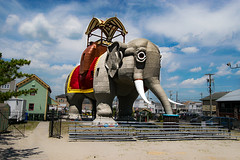 Lucy the Elephant (Sweet Cedar Photography) Tags: 2016 beach vacation margate new jersey shore tourist attraction historical landmark