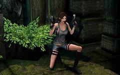 Tomb Raider (hausofgraphelle) Tags: hausofgraphelle secondlife sl tomb raider lara croft