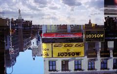 new orleans x nyc (Ren Sterling) Tags: 35mm film nyc new york city double exposure roll swap multiple nola orleans olympus om10 xa kodak portra 400