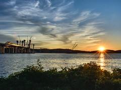 Hudson Valley (Lojones13) Tags: hudsonriver newyork nikond5200 sky sunset hudsonvalley serene clouds