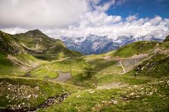 Wonderful alps (jogi.sch) Tags: alps alpen hochjoch montafon austria sky blue clouds green grass lake hiking mountains canon 6d travel outdoor nature canonef24105mmf4lisusm landscape
