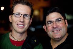 Trey and Jay (Thomas Hawk) Tags: california haight haightashbury haightashburydistrict haightdistrict jonathangoody photowalk photowalk10212011 sanfrancisco treyratcliff usa unitedstatesofamerica
