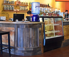 Refill (It Sure Feels Like Fall...Love Love Love It!!!) Tags: theflickrlounge wk32weekly center refill water counter annapurna restaurant inthecenter