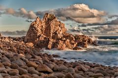 Rolling in from the deep (BlueberryAsh) Tags: ocean seascape australianseascape beach rock water rockformation clouds nikon nikond750 nikon24120 thepinnacles phillipisland abigfave ♥love♥
