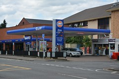 Gulf, Rutherglen South Lanarkshire. (EYBusman) Tags: gulf petrol gas gasoline filling service station garage rutherglen glasgow south lanarkshire scotland certas energy bp eybusman