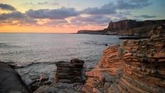 Sicilia (cortomaltese) Tags: baia bay cala tramonto sunset sicilia macari sanvitolocapo trapani riservalozingaro mare scogli