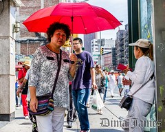 (dima.james) Tags: fuji x100 newyork nyc manhattan candid street streetphotography canalstreet umbrella