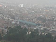Estacin Caja de Agua de la Lnea 1 del Tren Elctrico de Lima (fabriziocarballogerman) Tags: cerro sancristbal lima per lnea1 metrodelima estacin cajadeagua sanjuandelurigancho