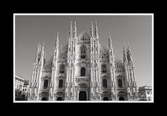 Milan, duomo cathedral (giulianafuriato) Tags: photo milan duomo italy nofilter photography church holiday magic milano mycity city town blackandwhite