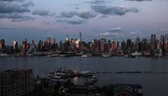 Sunset on west Manhattan_4762 Chrysler building (ixus960) Tags: nyc newyork america usa manhattan city mégapole amérique amériquedunord ville architecture buildings nowyorc bigapple