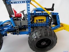 07e (nikolyakov) Tags: lego legotechnic eurobricks pneumatic logging skidder moc tc10