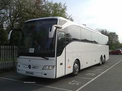 KTs Coaches, [BF16XRS] - Oxenholme (07/05/16) (David's NWTransport) Tags: ktscoaches bf16xrs mercedesbenztourismo mercedesbenz mercedestourismo mercedes tourismo